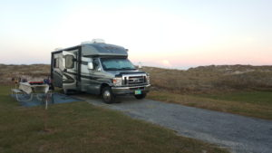 Our Rig on Ocracoke Island