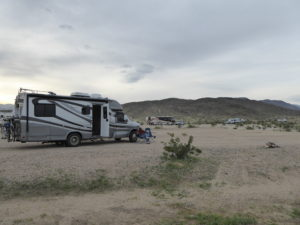 camping in Anz-Borrego